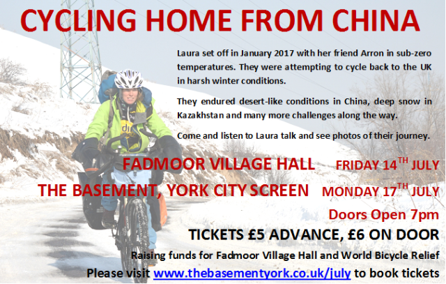 York & Fadmoor dates Poster